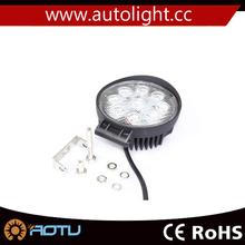 Brand 27W 12V 24V LED Work Light SPOT Lamp Tractor Truck SUV UTV ATV Off-road