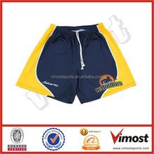 quality sublimation basketball shorts supplying/custom logo/number