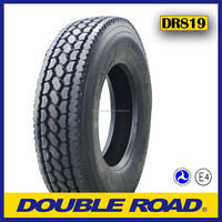 High quality DOUBLE ROAD brand 11R22.5 heavy duty truck tire