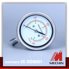 all stainless steel diaphragm pressure gauge polished case stainless steel pressure gauge with diaphragm seal