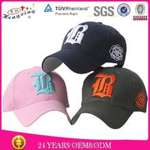 100% cotton casual cap designer hats sports cap
