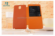 Latest Product single visual window cell Phone Case for Samsung note3