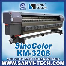 Konica KM512 Heads Flex Printing Machine Price