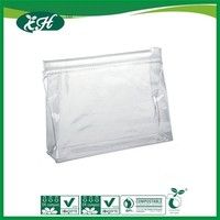 wholesale promotional custom clear plastic zip lock pvc cloth garment bag wholesale