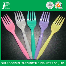 color disposable plastic cutlery for household,party,quick meal