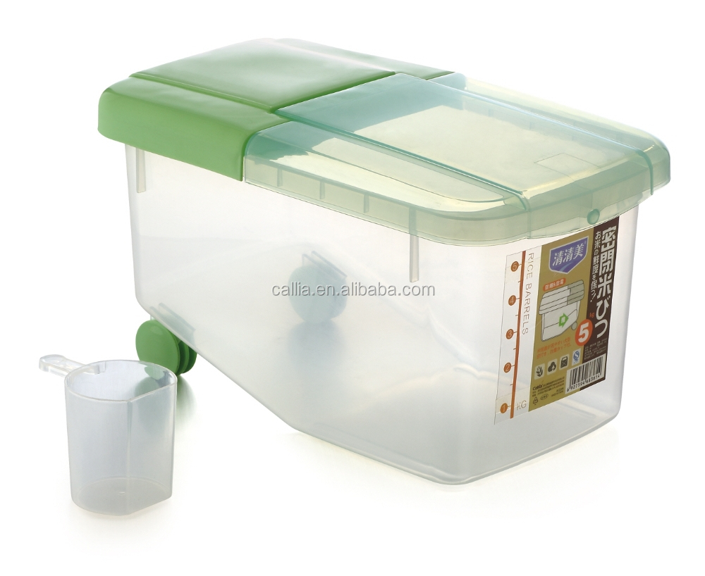 Storage Containers,10kgs Rice Containers,Plastic Rice Storage
