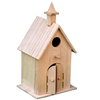 New hot sale environmental exquisite wooden bird house for sale, indoor bird houses