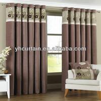 Frame Retardant Blackout Hotel Curtains Drapery window curtains