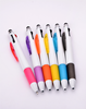 stylus touch pen with multi-color ink color pen