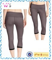 fitness tight ladies capris pants and women pants