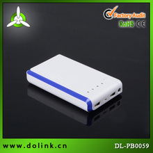 High capacity portable external battery 9000mah 5 x 18650 power bank components
