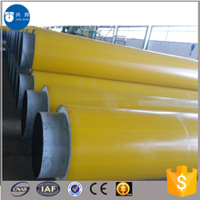 API5L spiral steel tube 4inch with rigid foam filled and hdpe outer casing for Mongolia hot water pipeline system