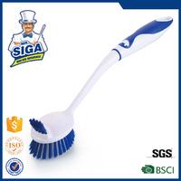 Mr. SIGA plastic long handle kitchen cleaning dish washing brush