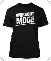 100% cotton mens printed gym t shirts wholesale fitness clothing mens workout t shirts mens gym wear