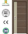 جديد بولي كلوريد الفينيل الداخلية باب الخشب باب غرفة النوم صناعة تشجيانغ2014