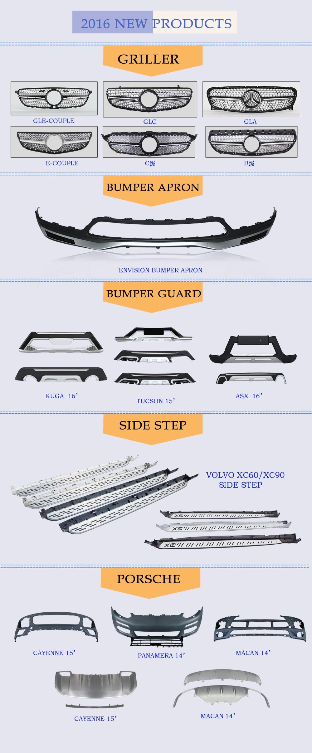 nouveau produit auto side step marchepied pour peugeot 3008 4x4 accessoire de la chine usine. Black Bedroom Furniture Sets. Home Design Ideas