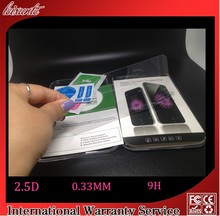 0.33MM 2.5D Mobile Phone Use For iPhone 6 Screen Protector Toughened Glass Film Screen Protector for iphone6