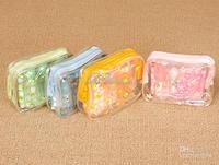 Small pouch nylon zipper vinyl/eva bag for cosmetics