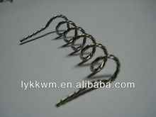 polished seamless copper wire scrap in making coiled coil and filaments
