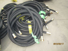 hose rubber hydraulic steam hose for transfer heated water