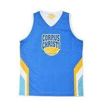 2014 Custom design reversible basketball jersey