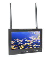 7 Inch FPV Monitor with 5.8Ghz Wireless Receiver ,Dual 32 Channel for RC Quadcopter