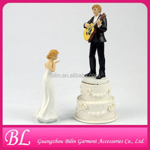 Guitar Wedding Cake Topper cake decoration accessories