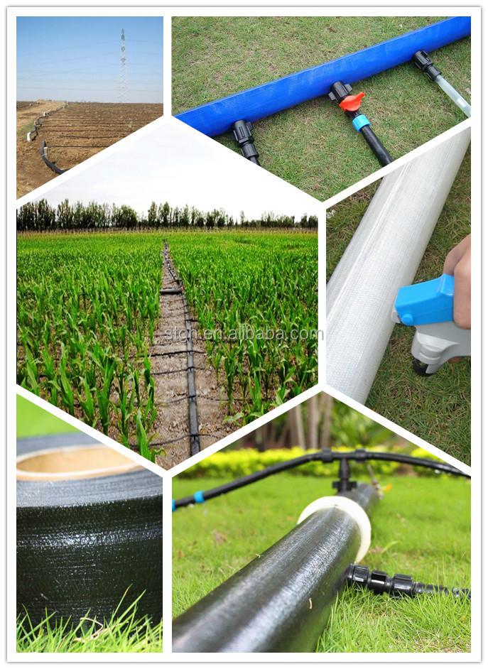 Pe anti UV irrigação por gotejamento mangueira