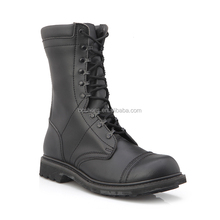 durable winter boots shoes/leather police boots