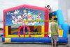 amusement park equipment inflatable kids combo bouncer, inflatable bounce slide