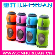 Fashion kettle shape sports bike mp3 speaker portable digital Mini Music Player USB voice/loudspeaker box