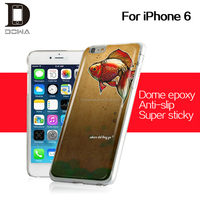hang on glass with super sticky mobile phone case gel epoxy cover for iphone 6s