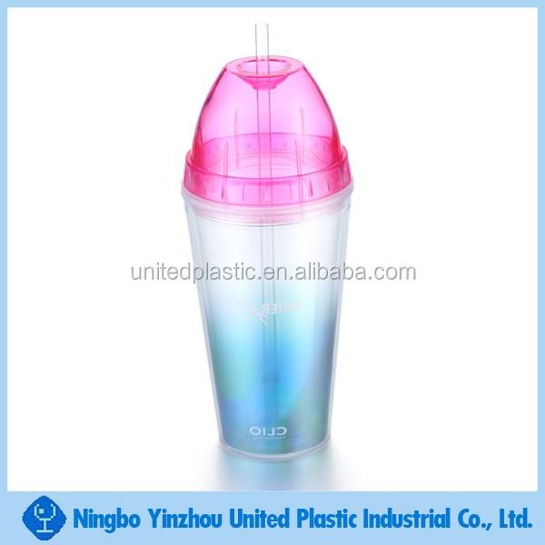 16oz Plastic Straw Cup With Glitter Buy 16oz Plastic