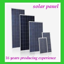Factory price OEM solar panel 250w high quality durable 5kw solar power system with mppt charge controller