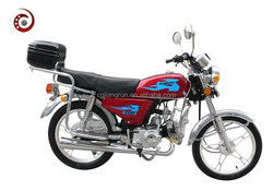 Cheap JY90 street motorcycle with tail box