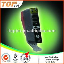 Compatible ink cartridge with chip for Canon Compatible ink cartridge PGI-225/325/425/525/725/825 BK in China zhuhai