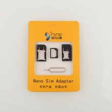 Hot Selling Factory Cheapest Price Universal 4 In 1 SIM Card Adapter For Iphone