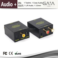 Digital to Analog Audio Converter - Optical SPDIF Toslink/Coaxial to RCA L/R with 3.5mm Jack hdmi converter