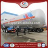 LPG semi Truck Trailer Large volume 3 axle fuel tank semi trailer cheap