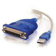 USB to DB25 IEEE-1284 Parallel Printer Adapter Cable