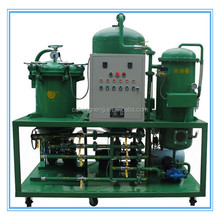 pure physical micro filteration method used hydraulic oil decoloring and dehydration machine