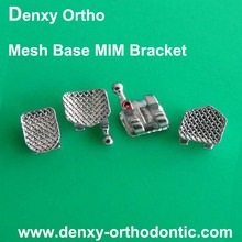 FDA certification box package NEW MIM Brackets orthodontic metal brackets