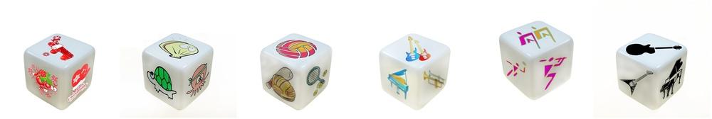 promoção atacado personalizado dados naturais de plástico para brinquedos