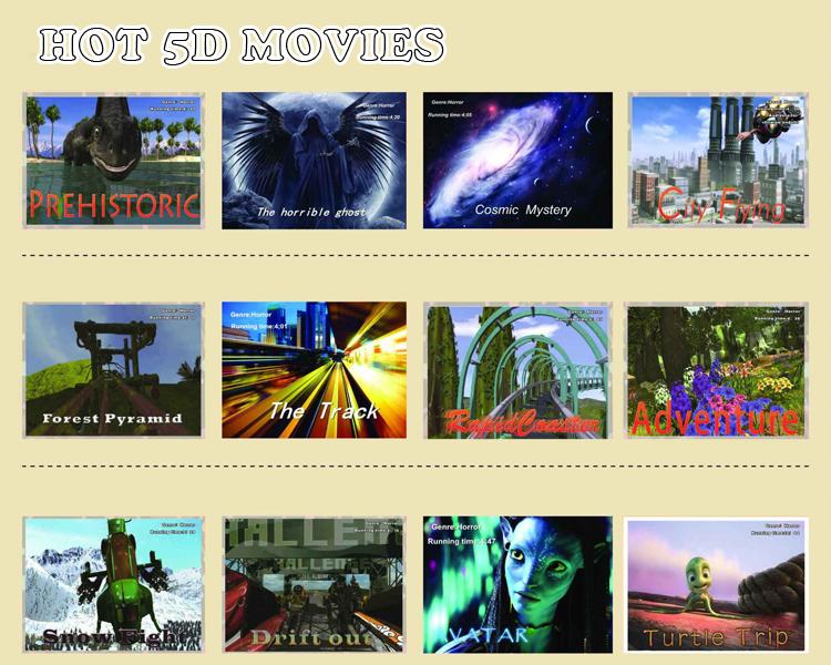 2016 Venda Quente Parque De Diversões Máquina de Jogo 5D, Equipamentos de Cinema 5D, Cinema 5D Simulador de Cinema 5D