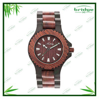 new arrival original design mix color pure time wooden watch