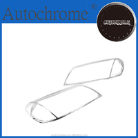 Factory price car parts abs chrome head light cover - for Holden Captiva
