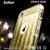 Hybrid Ultra Thin Aluminum Metal Frame Bumper + PC Back Cover Case For Apple iPhone 5 5S 6 6S