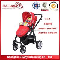 Europe test approved EN1888 certification baby pram exported Germany