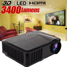 New 1080p hd projector,video projector prices, the cheapest projector with HDMI USB VGA AV interface for party meeting education