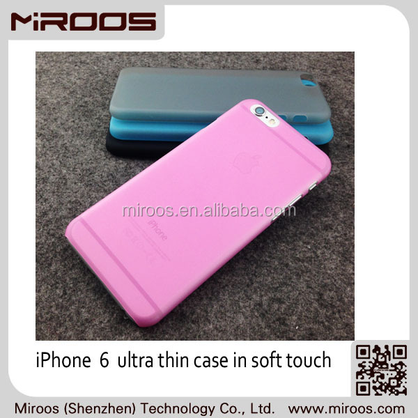 MIROOS 2014 new arrival good quality factory wholesale pc case for iphone 6